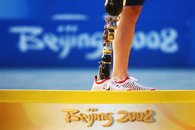 usas-allison-jones-stands-on-the-podium-during-day-6-of-the-2008-paralympic-games