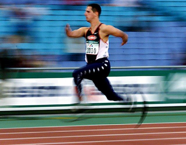 Mens 100m T44 Semi Final X