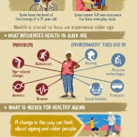 Some data from the WHO for the elderly