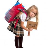 Do kids get bad backs?